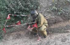 Bombă de aruncător, descoperită într-o localitate din județul Botoșani – FOTO