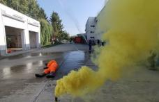 Desfășurare impresionantă de forțe la exercițiul ISU. Mai multe persoane surprinse de o explozie produsă la stația de biogaz din Dorohoi – FOTO