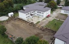 "Teren de sport modern construit la Școala ""Ion Pillat"" din Dorohoi - FOTO"