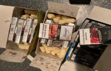 Pufuleţi aromatizaţi cu tutun de contrabandă, pregătiţi pentru Italia
