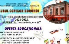 Ziua porților deschise la Clubul Copiilor Dorohoi