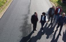 Covor asfaltic nou pe drumul județean Săveni – Știubieni – Vorniceni - FOTO