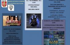 Invitație la evenimentele din cadrul Zilelor Municipiului Dorohoi în perioada 6-9 octombrie 2021