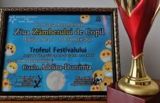 """Premii importante obținute de copii din Dorohoi la Festivalul Național """"Ziua zâmbetului de copil"""" - FOTO"""