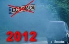 Adio maşini cu numere de Bulgaria
