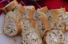 Baghetă umplută