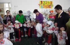 Ziua de 24 ianuarie sărbătorită la grădinița școlii Al. I. Cuza