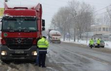 Şoferi sancţionaţi în urma unei acţiuni a poliţiştilor rutieri