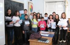 """Olimpiadele Cunoașterii la Liceul Teoretic """"Anastasie Bașotă"""" Pomîrla"""