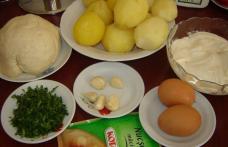 Barcute de cartofi copti (de post)