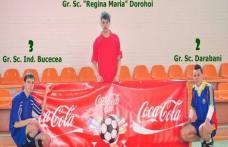 """Cupa Coca-Cola Dorohoi [VIDEO FOTO]: Grup Şcolar """"Regina Maria"""", câştigătoarea competiţiei!"""