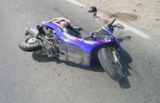 Accident provocat de un şofer beat şi fără permis