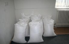 Zahăr cu aromă de evaziune, confiscat la Mihăileni