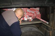 Cursa regulată cu sute de mii de ţigarete de contrabandă
