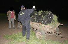 Mii de ţigări de contrabandă transportate cu căruţa