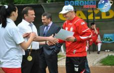 Jucătorii şi staful echipei FCM Dorohoi premiaţi de primarul Dorin Alexandrescu