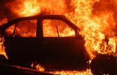 Seria mașinilor incendiate continuă la Botoșani