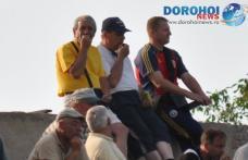 Vespazian Colban şi Victor Bordeanu prezenţi în tribună la barajul dintre FC Microbuzul şi Ştiinţa Miroslava
