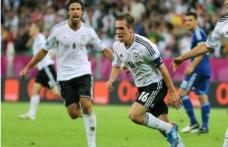 Germania câştigă cu 4-2 în faţa Greciei şi se califică în semifinale