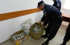 Captură de peste 1300 de pachete de țigări a jandarmilor botoșăneni