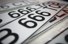 Conducere auto cu numere false de înmatriculare