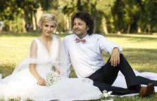 Dana Rogoz s-a măritat! Laura Cosoi şi Adela Popescu au fost domnişoare de onoare