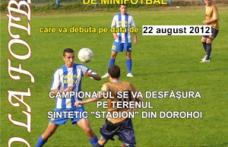 Au început înscrierile pentru campionatul judeţean de mini fotbal