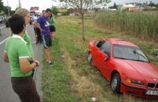 Echipa ieşeană de fotbal feminin s-a răsturnat cu BMW-ul