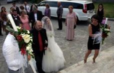 Fiica lui Victor Socaciu s-a măritat. Alessia a fost condusă la altar de către tatăl ei