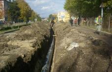 A inceput inlocuirea conductelor pe bulevardul Victoriei din Dorohoi