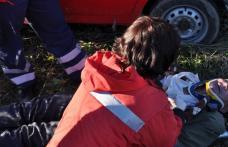 [VIDEO][GALERIE FOTO] Accident de circulaţie grav pe şoseaua Dorohoi - Botoşani provocat de fostul  procuror al Tribunalului Botosani