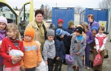 Acţiune comunitară desfăşurată de Şcoala nr.4 Dorohoi