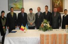 Întâlnire de lucru la frontiera româno-uraineană