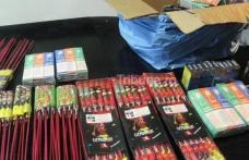 Au inceput confiscarile de petarde si alte materii explozive