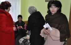 """[VIDEO][FOTO] """"Bucuria darului"""" Femeile PSD-iste alaturi de batranii din Dorohoi"""