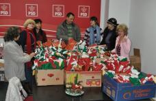 [GALERIE FOTO] Moş Nicolae: PSD Dorohoi a împărţit cadouri copiilor