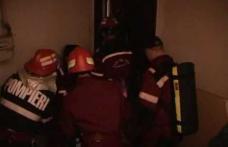 Dorohoi: Salvată de pompieri în ultima clipă