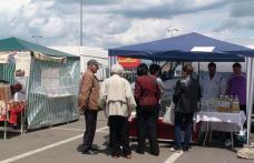 Târg Alimenta Tradiţional organizat în parcarea Shopping City Suceava. O mie de porţii de fasole cu afumătură gratuite