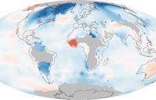 NASA a dezvaluit harta incalzirii globale