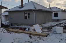 Noi lucrări pentru casele sinistraţilor din Dorohoi