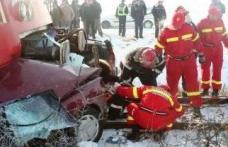 Accident de tren cu 4 victime
