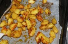 Cartofi la tava cu mustar Dijon