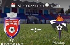 FC Botoşani joacă astăzi, pe teren propriu, cu cei de la Gaz Metan Mediaş