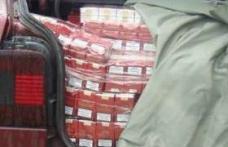 A rămas fără microbuz pentru 220 pachete de ţigări