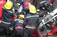Accident grav pe E 58