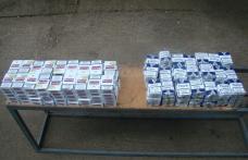 Zeci de mii de ţigarete confiscate în această săptămână