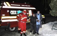 SMURD-ul a devenit TAXI pentru boschetarii din Dorohoi