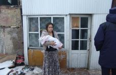 Demolari ingreunate de o familie de romi