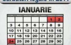24 ianuarie, zi nelucrătoare