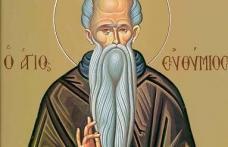 În această lună, în ziua a douăzecea, pomenirea preacuviosului părintelui nostru Eftimie cel Mare